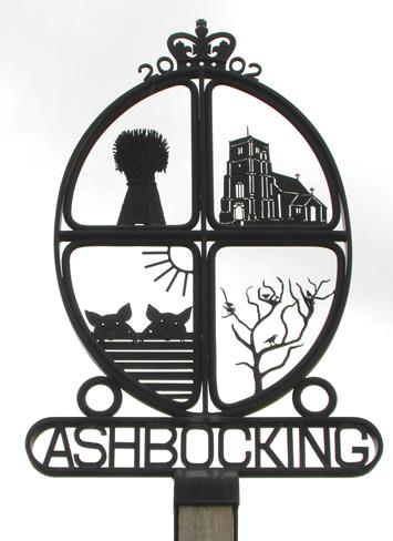 Village sign Ashbocking
