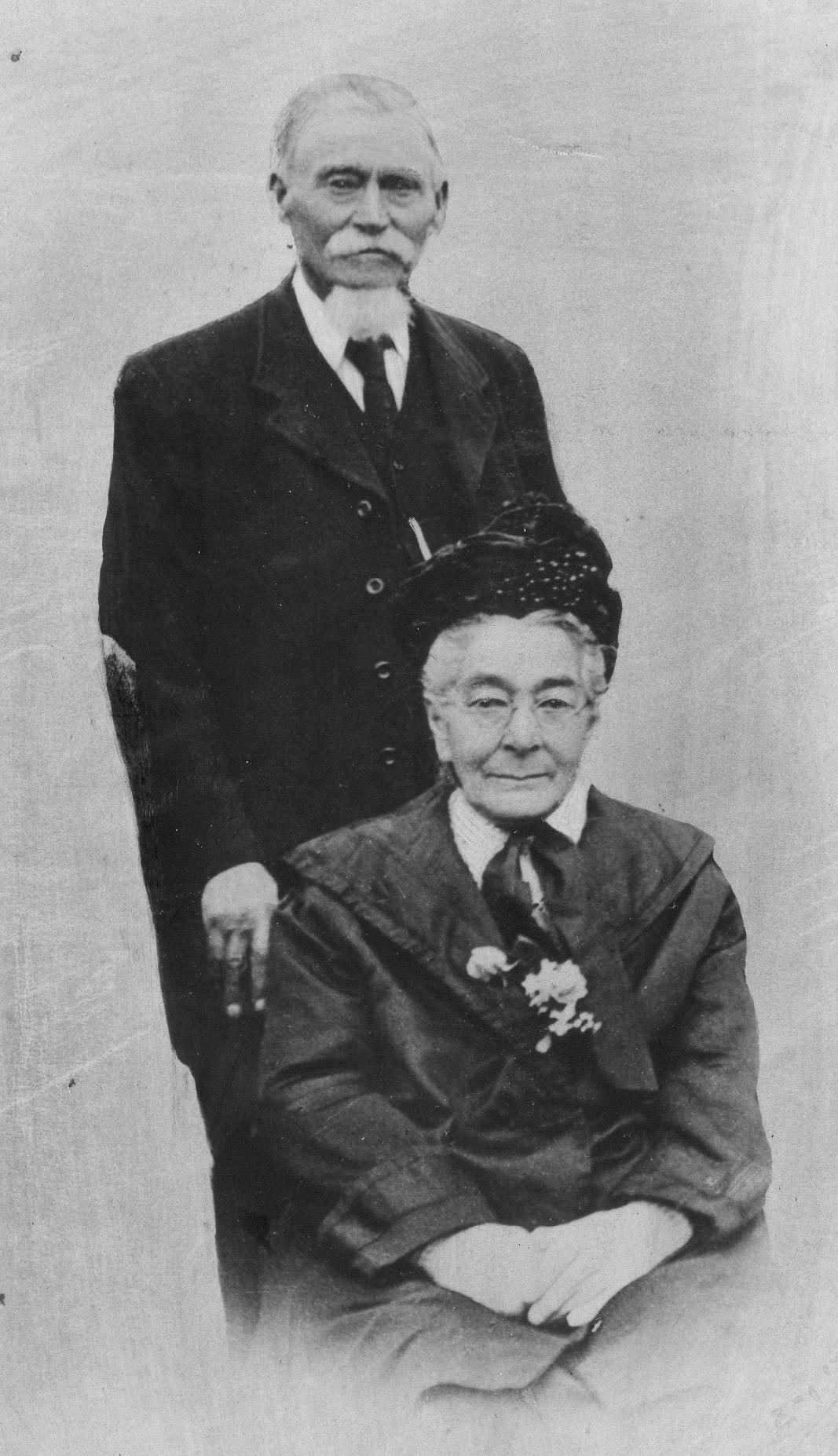 Jacob Baxter and Elizabeth Maria Ward