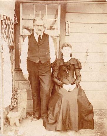 Robert Baxter and Sarah Elizabeth Folkard