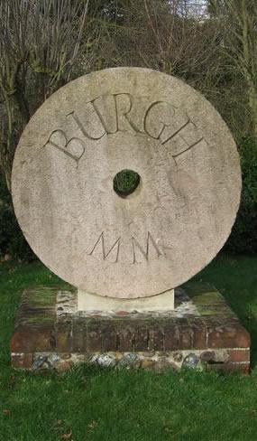 Village sign Burgh