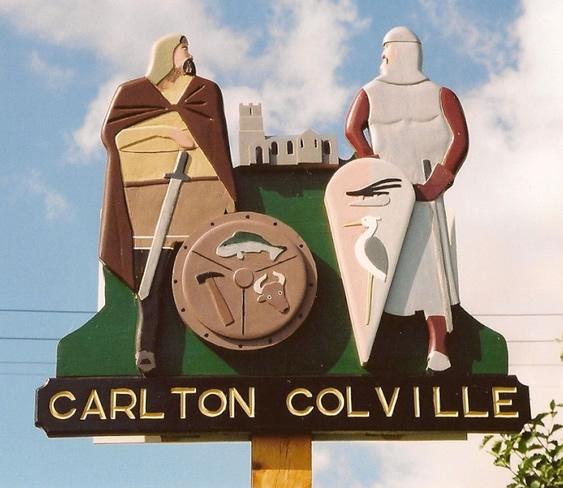 Village sign Carlton Colville