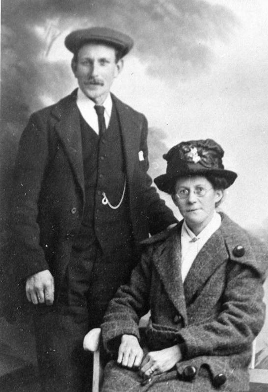 Ernest Albert Killett and Dinah Baxter