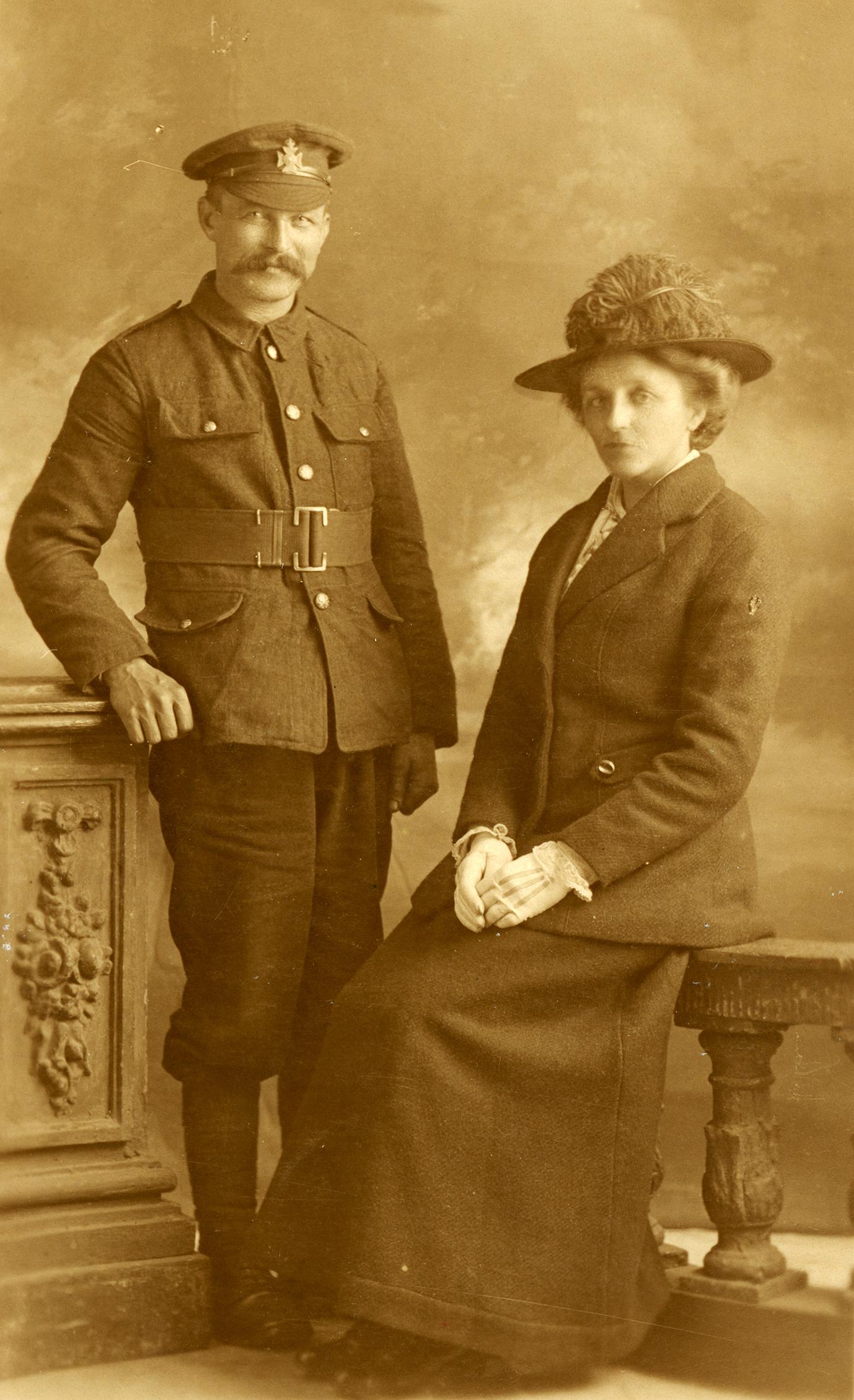 Frederick William Baxter and Louisa Ellen Richens
