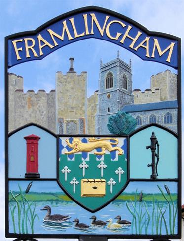 Town sign Framlingham