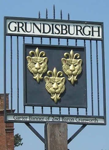 Village sign Grundisburgh