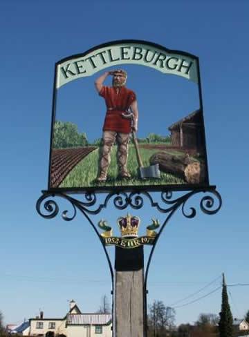 Village sign Kettleburgh
