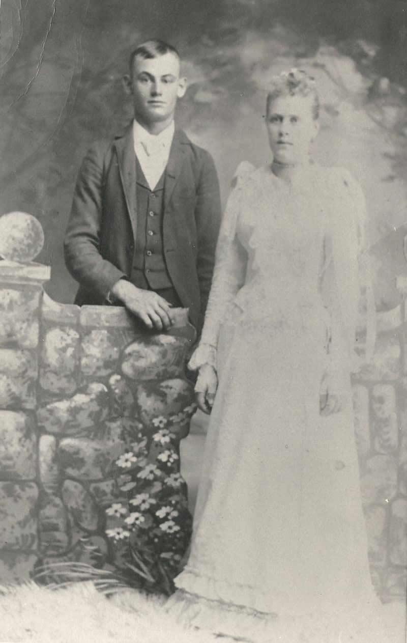 John Edward Durrant and Minnie Elizabeth Baxter