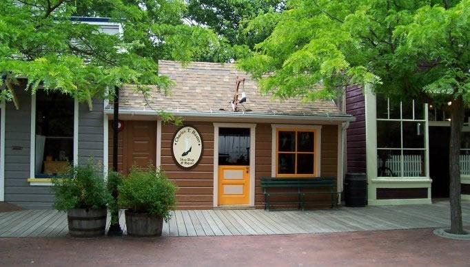 Charles Thomas Baxter's shop