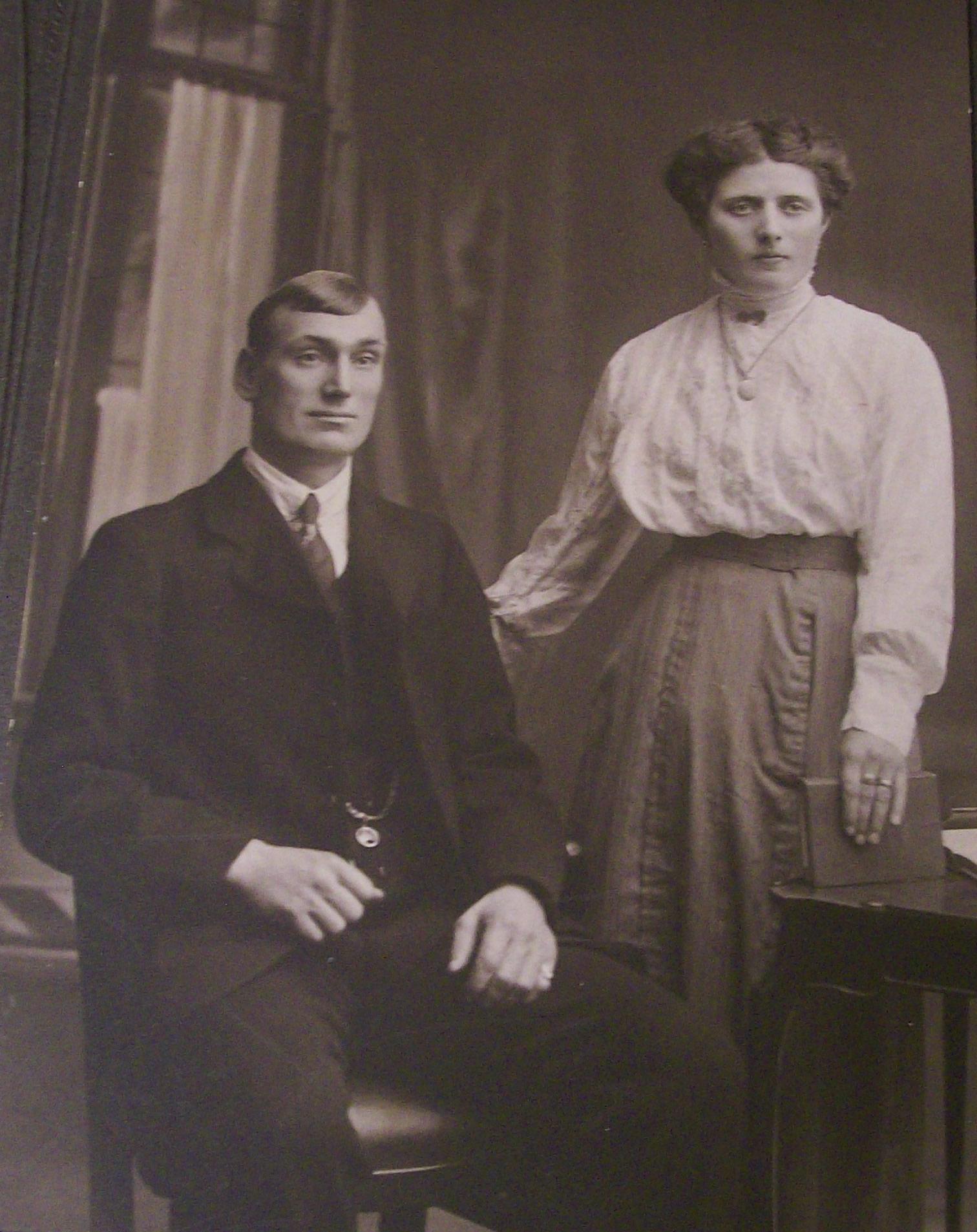 William Benjamin Daniel Baxter and Jane Reeve