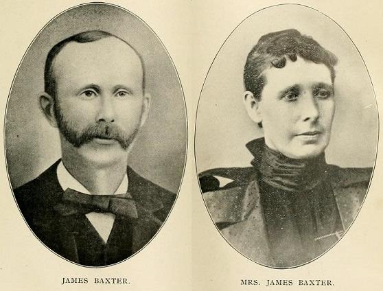 James Baxter and Ellen Newman