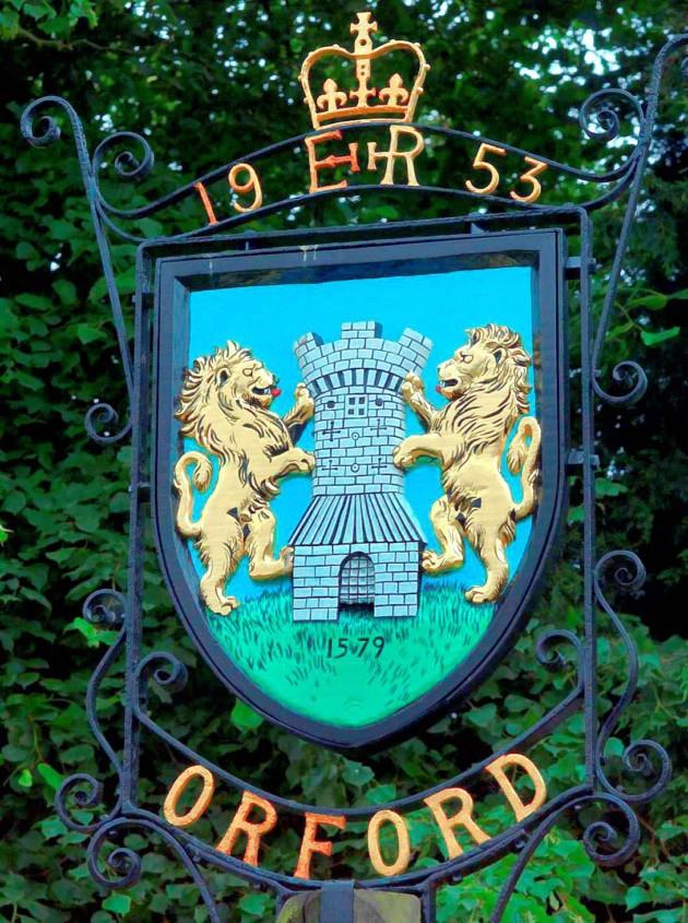 Village sign Orford