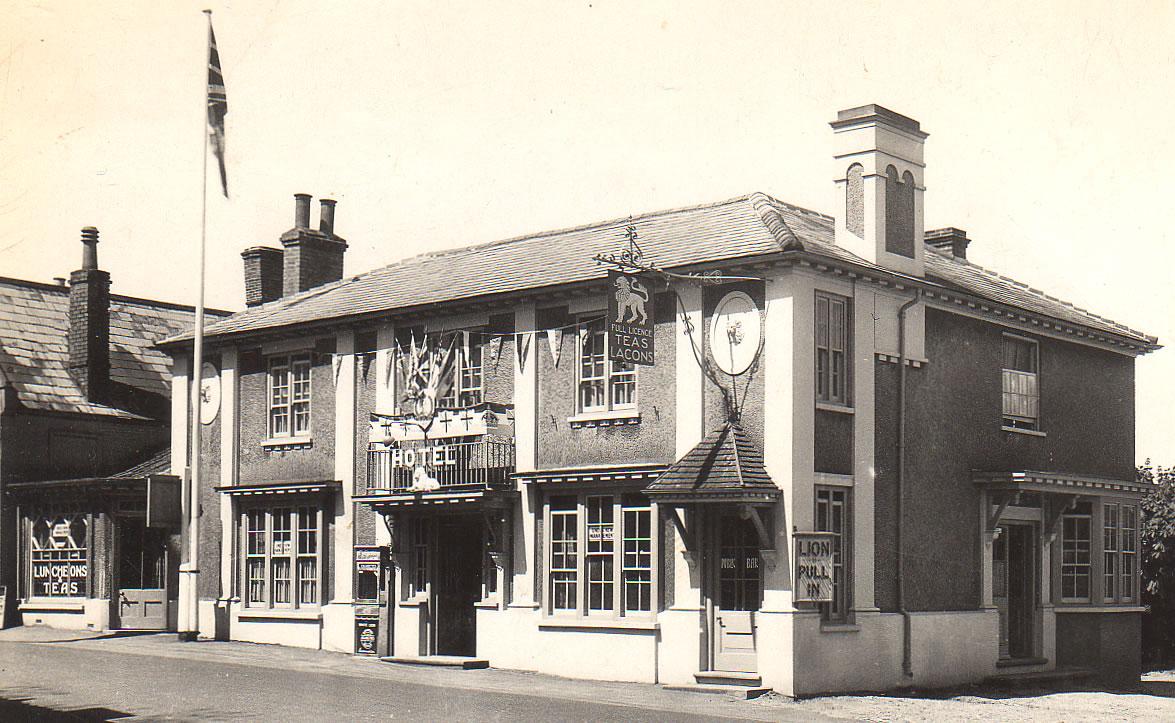 White Lion Hotel, Wangford